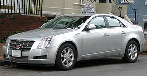 2008-2009 Cadillac CTS photographed in Washing...