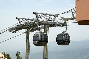 The Gondola ride at Lake Tahoe, South Lake Tah...