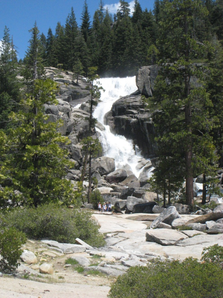 Bassi Falls in the High Sierra